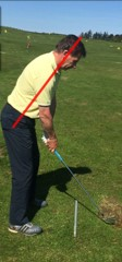 Backswing Shoulder & Hip Move