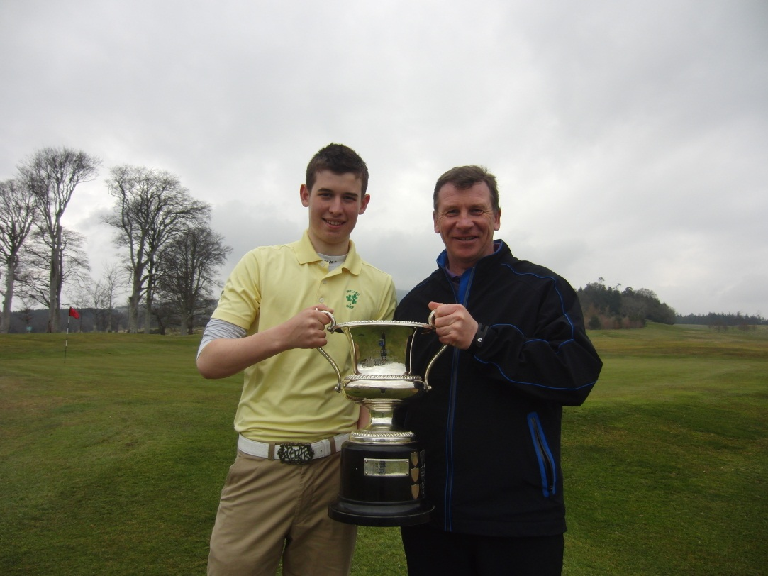 Powerscourt Coach helps young champion